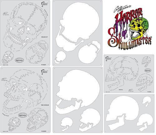 Plantillas Mini HORROR OF SKULL MASTER Artool