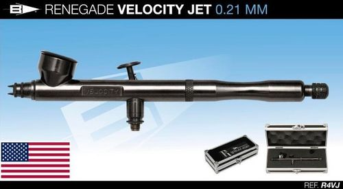 Aerografo Badger Renegade VELOCITY JET (0,21mm)