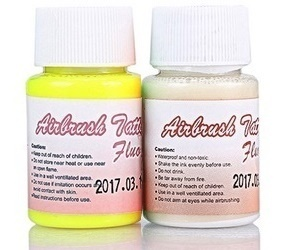 Tinta Tatuaje Temporal FLUORESCENTE (40ml) (-25%)