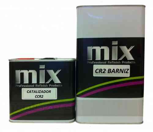 125ml Barniz CR2 para Metalchrome + Cat