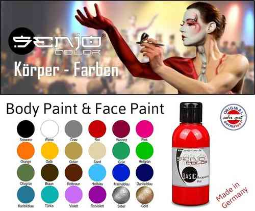Pintura Body Paint SENJO (75ml y 500ml)