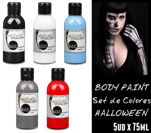 Kit TERROR Body Paint SENJO (5ud x 75ml) (-10%)