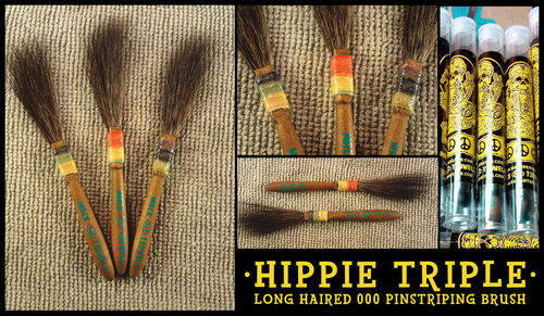 Pincel Mack Hippy Triple - Nº 000 (-10%)