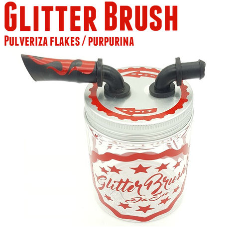 Glitter Brush Pulverizador Flake / Purpurina