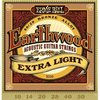 Juego de cuerdas para guitarra acústica ERNIE BALL Earthwood Extra Light 2006