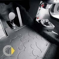 SMART 450 FORTWO. Original Rubber mats