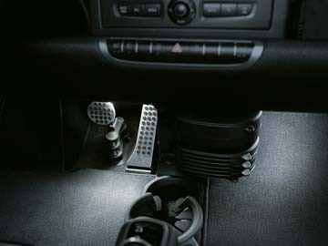 ORIGINAL BRABUS. SMART  451 FORTWO. Pedals covers