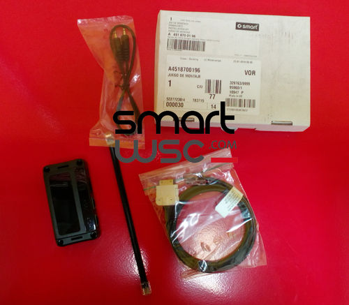 SMART ORIGINAL.  SMART 451 FORTWO.  Kit de integración del iPod