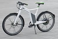 ebike smart. Modelo CRISTAL WHITE.  Electric green