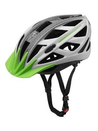 ebike smart. Casco unisex, Blanco / Verde