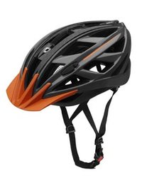 ebike smart. Casco unisex, Antracita / Naranja