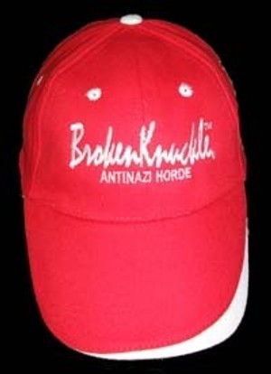 GORRA BROKENKNUCLE ROJA