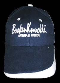 GORRA BROKEN KNUCLE AZUL