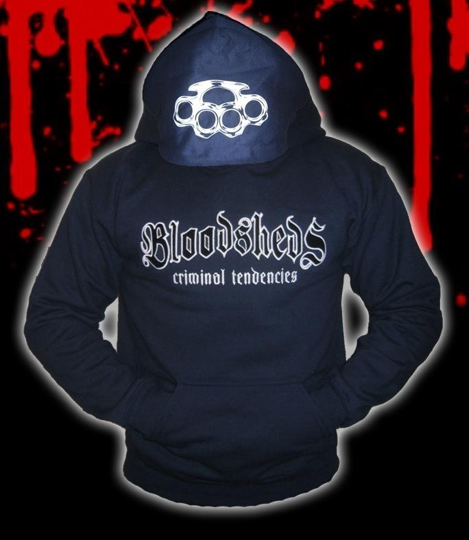 SUDADERA BLOODSHEDS CRIMINAL TENDENCIES AZUL
