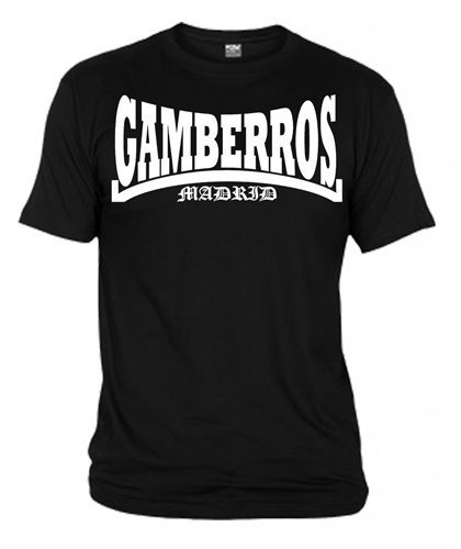 CAMISETA GAMBERROS MADRID