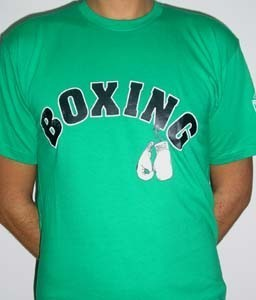 CAMISETA CHARLIE BOXING GREEN CHICO