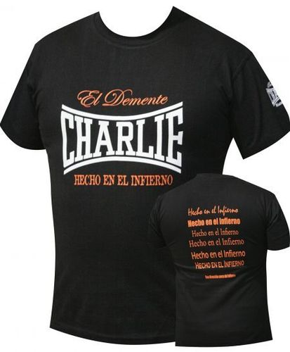 CAMISETA CHARLIE MADE IN HELL CHICO