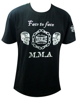 CAMISETA CHARLIE FACE TO FACE M.M.A CHICO
