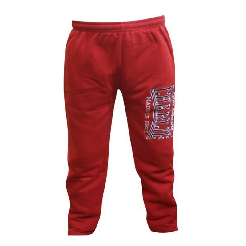 PANTALON CHANDAL CHARLIE BORDADO ROJO