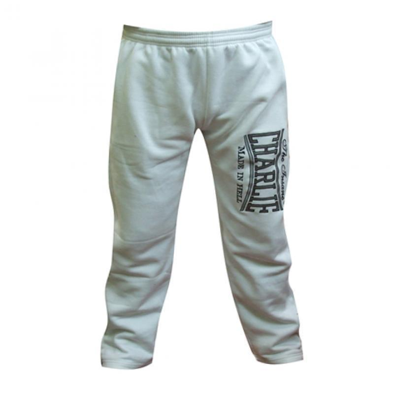 PANTALON CHANDAL CHARLIE BORDADO BLANCO