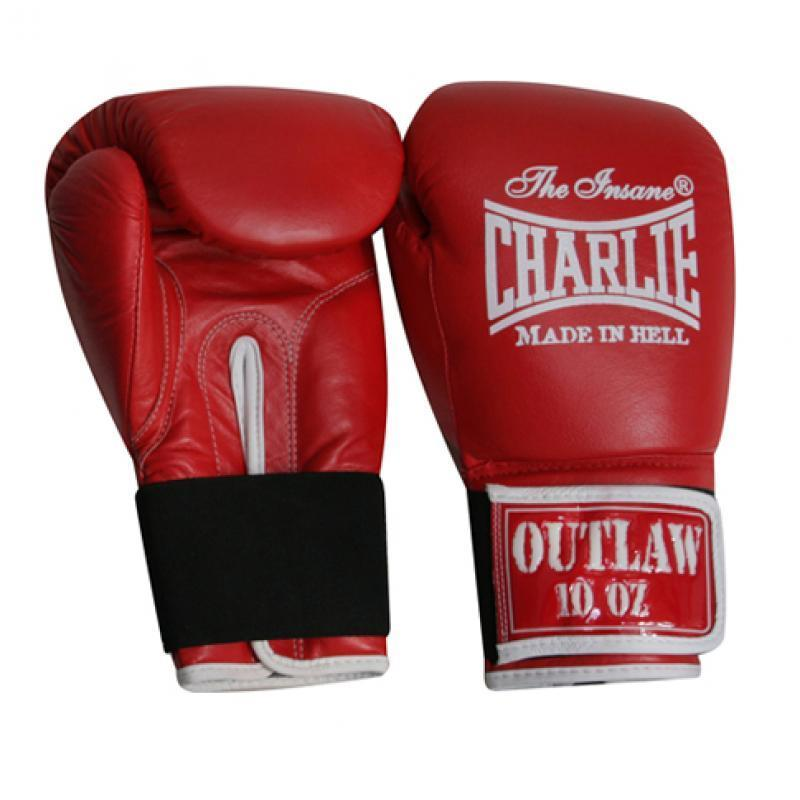 GUANTES BOXEO CHARLIE OUTLAW ROJO