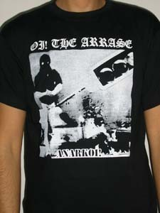 CAMISETA OI! THE ARRASE ANARKOI CHICO