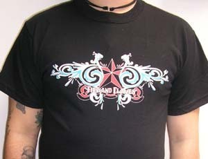 CAMISETA FIRE AND FLAMES TANGO ICE CHICO