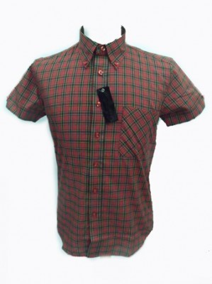 CAMISA RELCO CUADROS ESCOCESES
