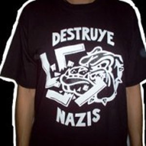 CAMISETA DESTRUYE NAZIS CHICO