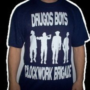 CAMISETA DRUGOS BOYS SILUETAS (CLOCKWORK BRIGADE) CHICO