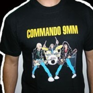 "CAMISETA COMMANDO 9MM ""LA GRAN ESTAFA"" CHICO"