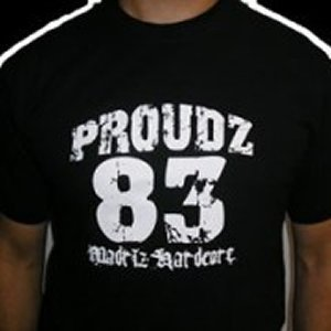 CAMISETA PROUD'Z  83 CHICO