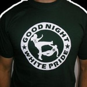 CAMISETA GOOD NIGHT WHITE PRIDE CHICO NEGRA
