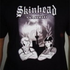 CAMISETA SKINHEAD MADRID CHICO