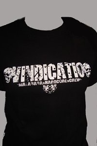 CAMISETA VINDICATIO NEGRA CHICO