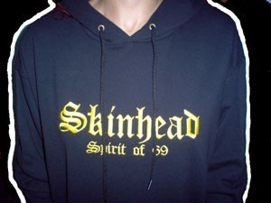 "SUDADERA BORDADA SKINHEAD  ""SPIRIT OF 69"""