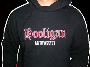 SUDADERA HOOLIGAN BORDADA