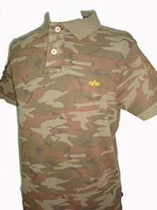 POLO ALPHA CAMUFLAJE CHICO