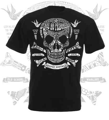 CAMISETA BROKEN KNUCKLE CALAVERA