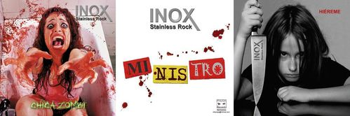 "PACK INOX ""HIEREME"" + ""CHICA ZOMBI""+ ""MINISTRO""(DOS CDS + EP)"