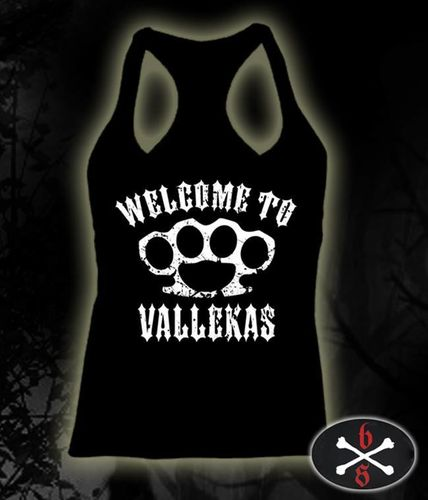 CAMISETA BLOODSHEDS WELCOME TO VALLEKAS CHICA