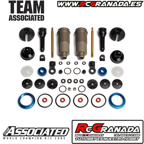 SET AMORTIGUADORES DELANTEROS ASSOCIATED RC8B3/3.1