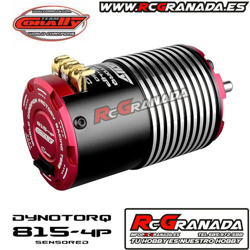 MOTOR BRUSHLESS 1/8 CORALLY 1950KV