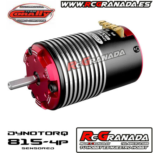 MOTOR BRUSHLESS 1/8 CORALLY 2350KV