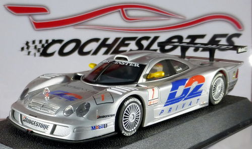 MERCEDES CLK LM Nº1 'D2' REF.C2081 SCALEXTRIC HORNBY