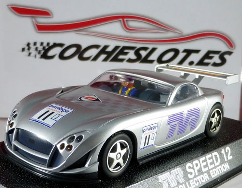 TVR SPEED 12 LTD. ED. 1000 UNIDADES COLLECTOR EDITION REF.C2206 SUPERSLOT HORNBY