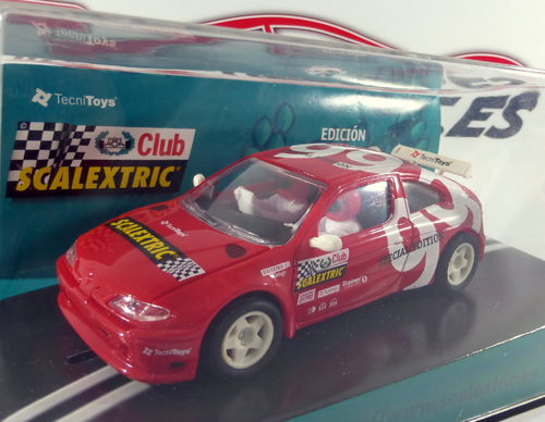 RENAULT MEGANE CLUB SCALEXTRIC 1999 REF.6037 TECNITOYS