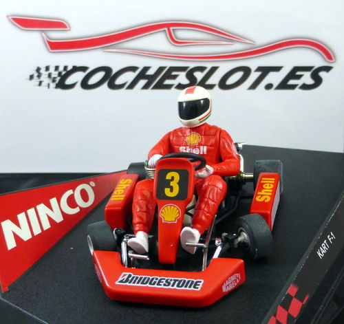 "KART F-1 SERIES ""RED"" REF.50226 NINCO"