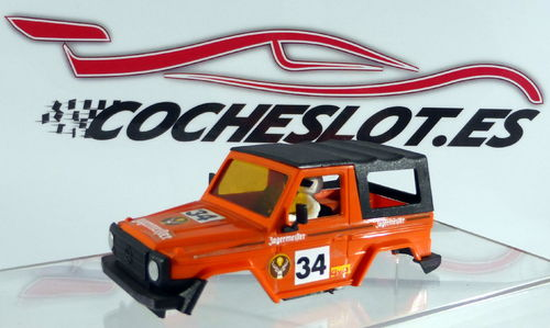 CARROCERIA CON CAPOTA MERCEDES 280 GE NARANJA JAGERMEISTER REF.2501 STS EXIN