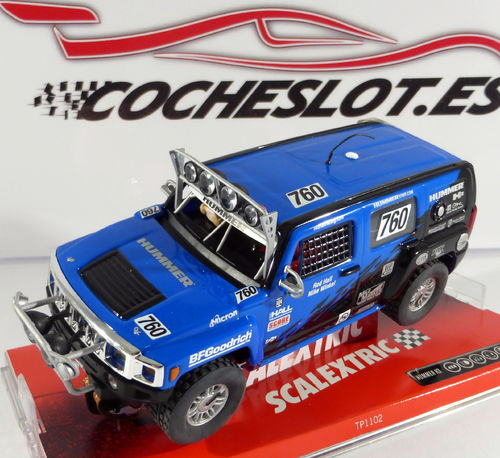 HUMMER 2006 H3 SUV REF. 6308  Scalextric Tecnitoys)